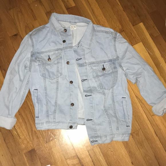 Show Po Jackets & Blazers - Oversized Denim Jacket